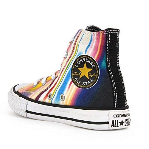 Converse Chuck Taylor All Star - Zapatillas abotinadas Unisex Niños Black Multi
