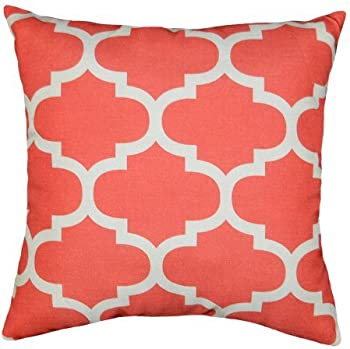 Mainstays Fretwork Decorative Pillow (Several Colors)