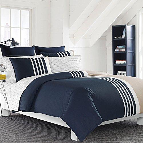 Nautica Aport Comforter & Sham Set, Size Twin - Blue