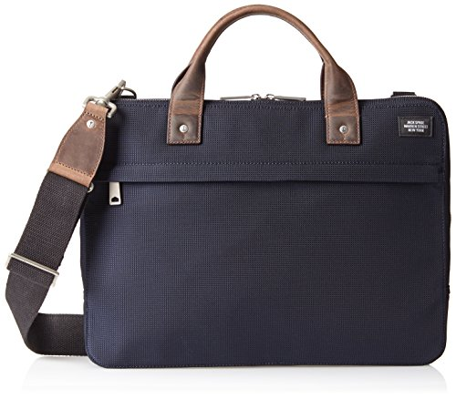 Computer Brief - Jack Spade Luggage Nylon Slim Brief Laptop Bag Navy One Size