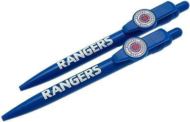 Rangers FC - Pack de bolígrafos (Talla Única) (Azul): Amazon.es ...
