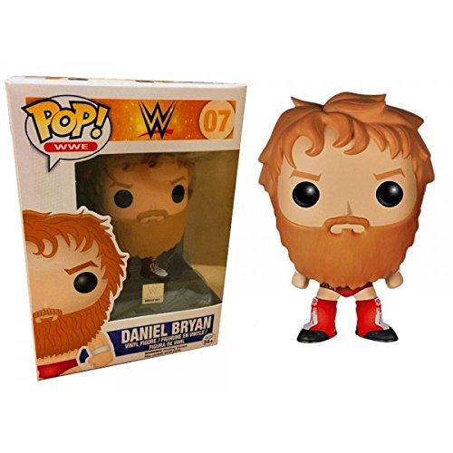 Funko Pop! WWE #07 Daniel Bryan Hot Topic Exclusive (Red Ring Gear) by FunKo