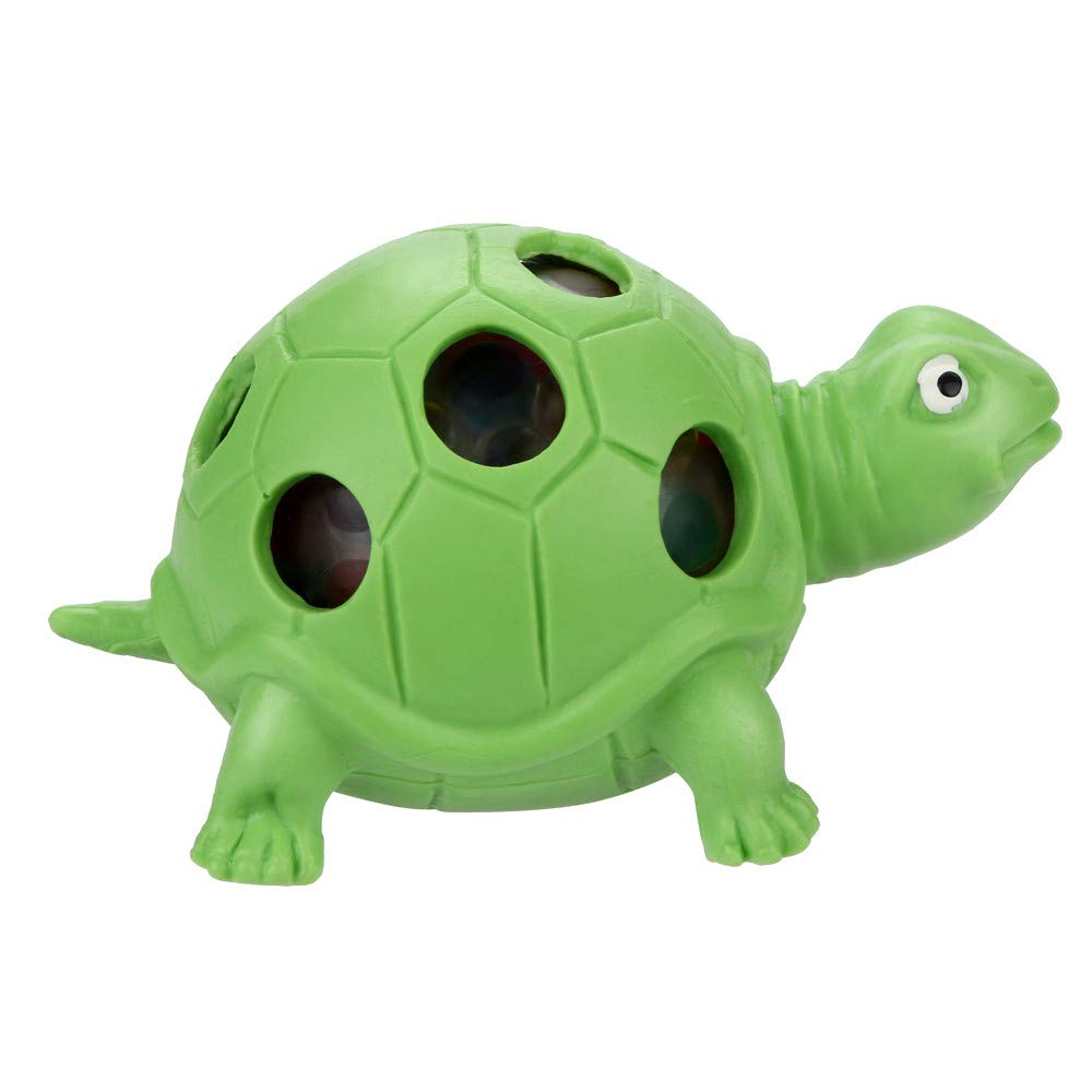 BBTshop Spongy Bead Rainbow Ball Toy Squeezable Squishies Toy Stress Relief Tortoise Toy