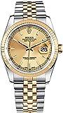 Rolex Datejust 36 116233 Gold/Steel Jubilee Bracelet Luxury Watch