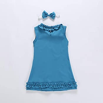 ASHOP Vestidos niña Verano 8 años Faldas Tutus Vestido Casual ...