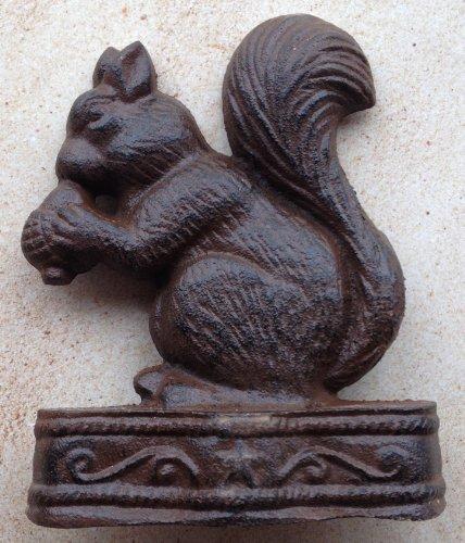 Home Decor - Squirrel Door Stop - Squirrel Doorstop