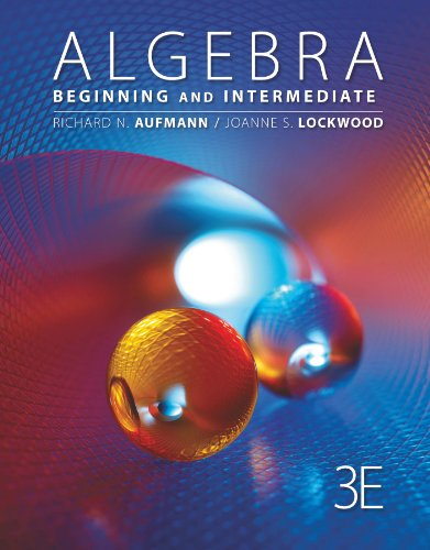 Download Algebra: Beginning and Intermediate (Textbooks Available with Cengage Youbook) Pdf