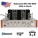 Nobsound® MS-10D MKII Hybird Tube Amplifier with Bluetooth/USB/Headphone for Hifi