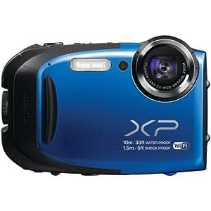 Fujifilm XP70 16 MP Digital Camera with 2.7-Inch LCD (Blue)