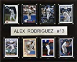 MLB Alex Rodriguez New York Yankees 8 Card Plaque