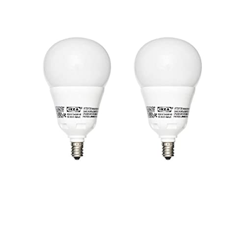 Amazon.com: IKEA E12 Bombilla LED 600 8,6 Watt (2 unidades ...