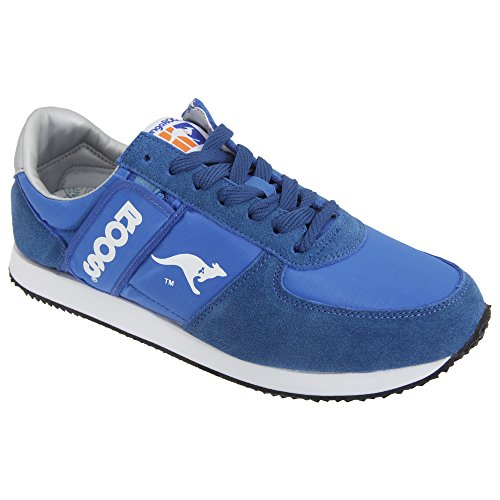 KangaROOS Adults Unisex Combat Sneakers (6 US) (Royal Blue)