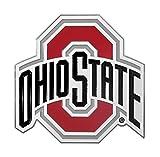 NCAA Ohio State Buckeyes Trailer Hitch Cover, Class II & III