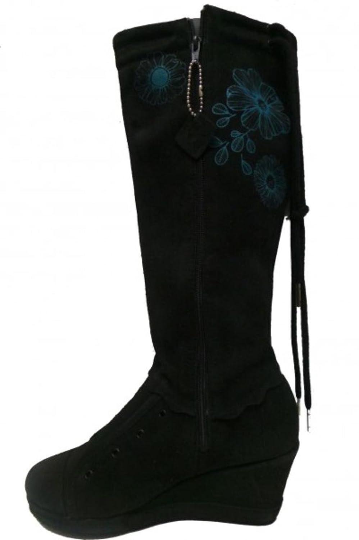 Etniesplus Womens Boots Olivia Miranda Plus Black/Cyan, shoe size:37.5