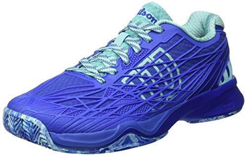 Wilson Wrs323430e070, Scarpe da Tennis Donna, Blu (Amparo Blue / Surf the Web / Aruba Blue), 41 EU