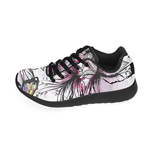 D-story Jogging Running Sneaker Da Donna Casual Comfort Sportivo A Piedi Scarpe Da Corsa Multi7