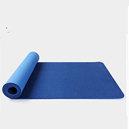 LETAMG Yogamatte 183X61Cmx6Mm Thick Yoga Matte, Green Weight ...