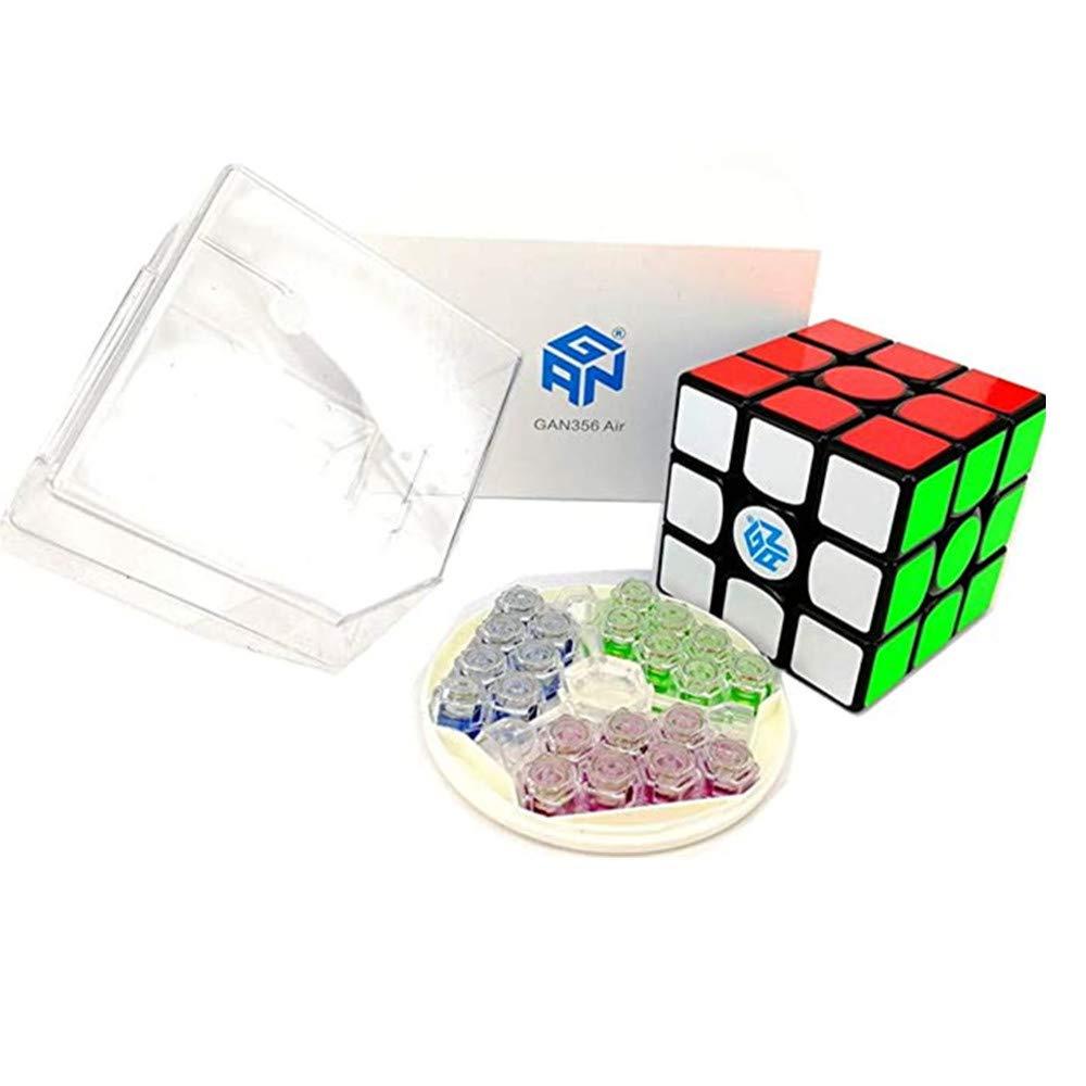 CuberSpeed Gans 356 Air Master 3x3 Black Magic Cube Gan 356 Air Master 3x3x3 Speed Cube 2019 New Version