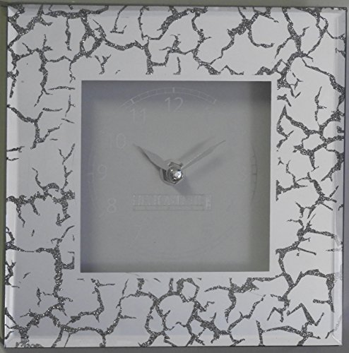 - 5th Avenue Collection Mirror Wall or Stand Alone Decorative Clock