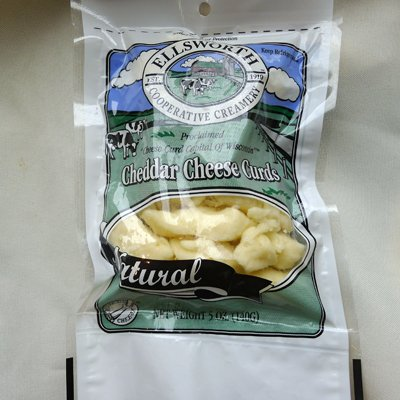 Ellsworth Cheddar Cheese Curds, All Natural, 5 oz
