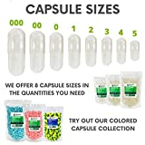 XPRS Nutra Size 0 Empty Capsules - Clear Empty