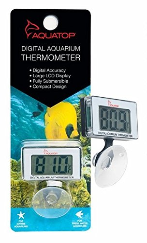 Digital Thermometer (Submersible Thermometer w/ Digital Display ) by AquaTop