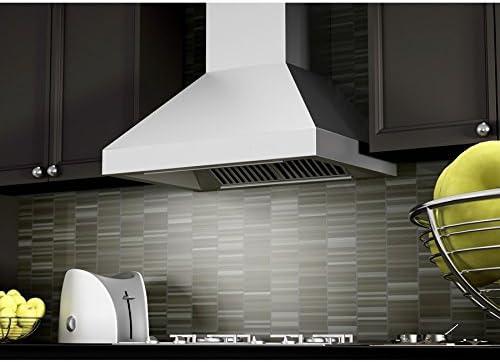 ZLINE 30 pulgadas. 900 CFM 597-30 - Campana de montaje en pared (acero inoxidable): Amazon.es: Grandes electrodomésticos