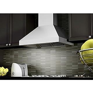 "Z Line 597-36 Z Line 900 CFM Wall Mount Range Hood, 36"", Stainless Steel (B00YZ29GA4) | Amazon Products"