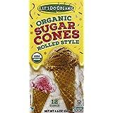 Let's Do … Organic Sugar Ice Cream Cones, 4.6 Oz (Box of 12 Cones), 4.6 Ounces