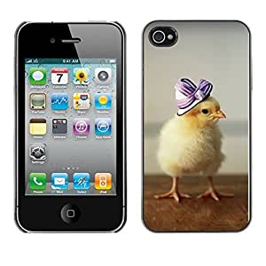 diy phone caseYOYO Slim PC / Aluminium Case Cover Armor Shell Portection //Cute Baby Duckling //Apple Iphone 4diy phone case