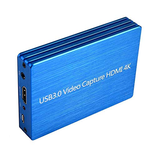 Volwco HDMI Game Capture Card HD Video Capture 1080P HDMI USB 3.0 Video Recorder Compatible with Xbox One/ PS4/Nintendo Switch OS Windows 7 Windows Server 2008 R2 Linux etc