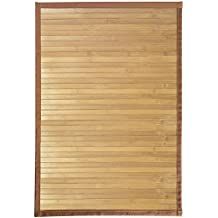 """InterDesign Bamboo Floor Mat – Ideal Mat for Kitchens, Bathrooms or Offices - 17"""" x 24"""", Natural"""
