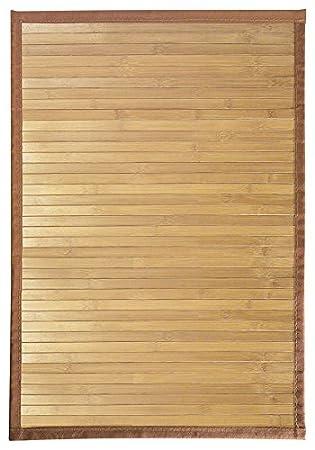 InterDesign Formbu tapis de sol antidérapant, petit tapis bambou ...