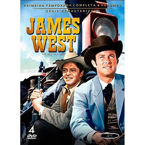 Dvd James West - 1 Temporada Vol.1