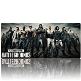 Beyme PUBG Gaming Mouse Pad Extended XXL Large Keyboard Mat for PLAYERUNKNOWN'S BATTLEGROUNDS- 35.4x15.7x0.1IN (90x40 battlegrounds 005)