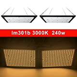 led Grow Light Board LM301B 288Pcs Chip Full Spectrum 240w Samsung 3000K Veg/Bloom State Meanwell Driver