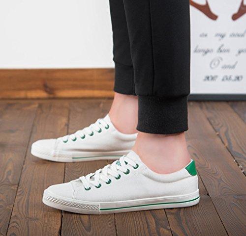 scarpe in uomo WFL traspirante piccole casual paio scarpe bianco scarpe da uomo nero Scarpe uomo scarpe bianche da tela scarpe selvatici da qw8wpt