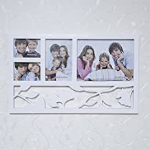 Photo wall photo frame 8 inch 6 inch 3 inch combination of four leaves fashion personality Siamese photo frame 43 26cm