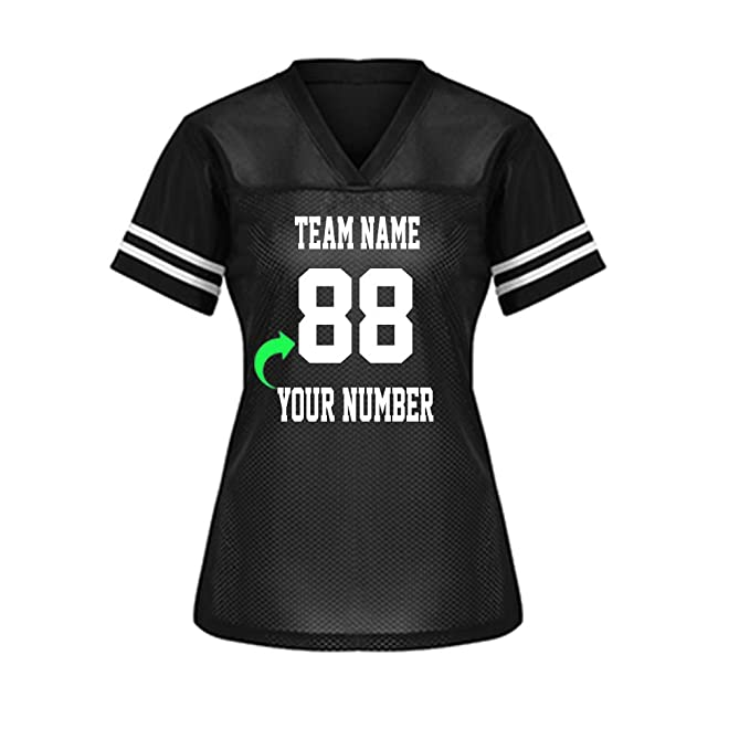5e83111f4 Customize Your Own Football Jersey with Your Name and Team Number  Personalized   Customized Jersey (