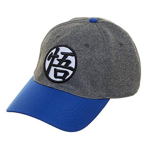 Dragon Ball Cap - Dragon Ball Z Adjustable Hat with Pre-Curved Bill Orange