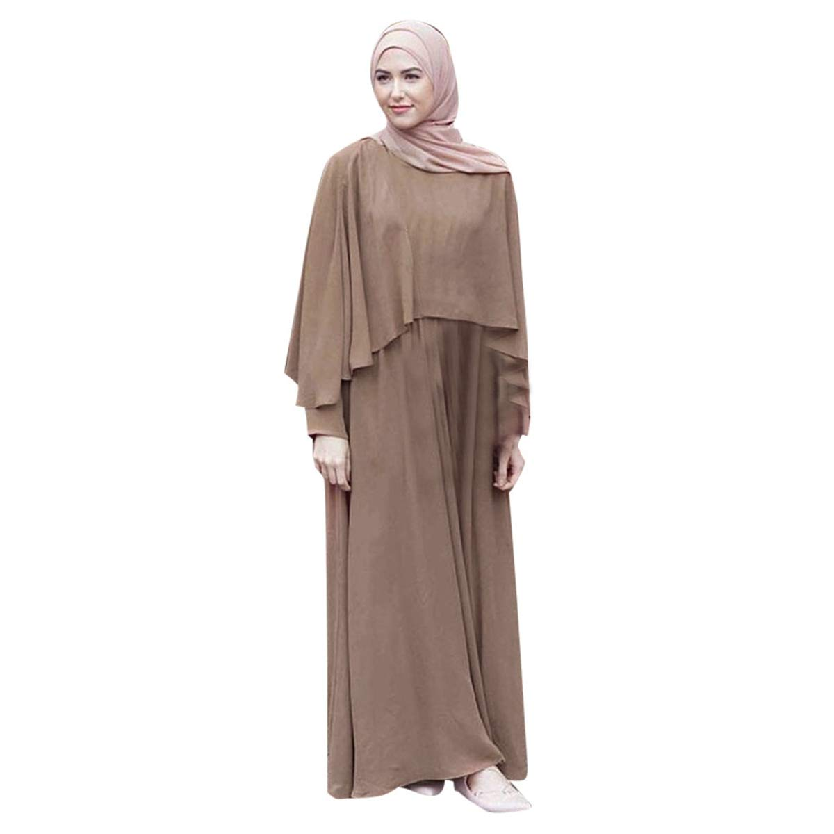f9b1128729843 Amazon.com: 2019 New! Vintage Women Dress,Muslim Kaftan Abaya Long ...