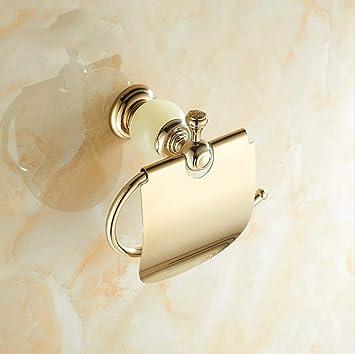 R&Y Porta Papel higiénico baño Titular de Toallas de Papel de Pared Jade Toalla de Papel