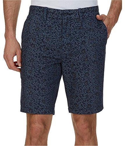 Nautica Men's Cotton Twill Flat Front Slim Fit Chino Short, Navy, 42W