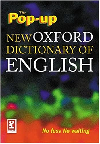 Buy The Pop-up New Oxford Dictionary of English on CD-ROM: Windows