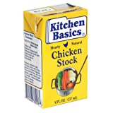 Kitchen Basics Chicken Stock, Gluten Free, 8-ounces (Pack of15)