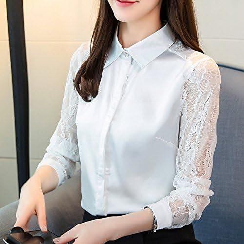 XXIN Long-Sleeved Camiseta Mujer Camiseta Tejida Nieve ...