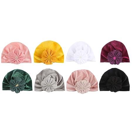 WAVENI Sombreros de Terciopelo for bebés Gorras Suaves for niños ...