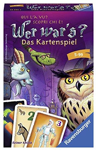 Ravensburger 23395 - Wer war's? - Das Kartenspiel