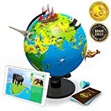 Shifu Orboot (App based): The Educational, Augmented Reality Based Globe | STEM Toy for Boys & Girls Age 4 to 10 years | Learning Toy Gift for Kids (No Borders or Names on Globe)