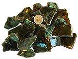 """Labradorite Stone Slab 2"""" - 3"""" - Crystal Healing"""
